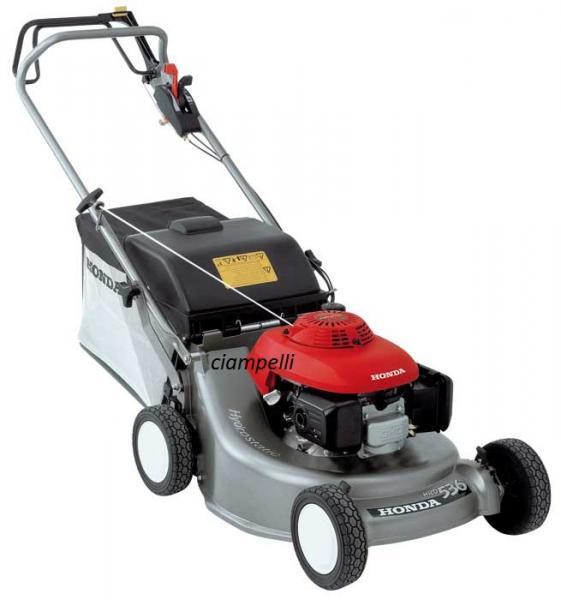 Honda Hrd 536c Hx E Hydrostatic Lawn Mower Lawn Mowers