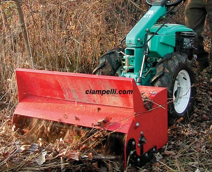 Flail mower 80 for two wheel tractor, BCS, topper grass, flail mower