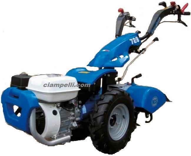 Motocoltivatore bcs 728 powersafe motore honda gp160 for Motocoltivatore bcs 720