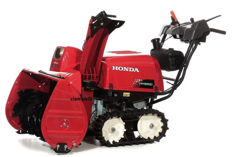 Honda Hss 1380i E Hybrid Snow Blower Honda Hss 1380i E