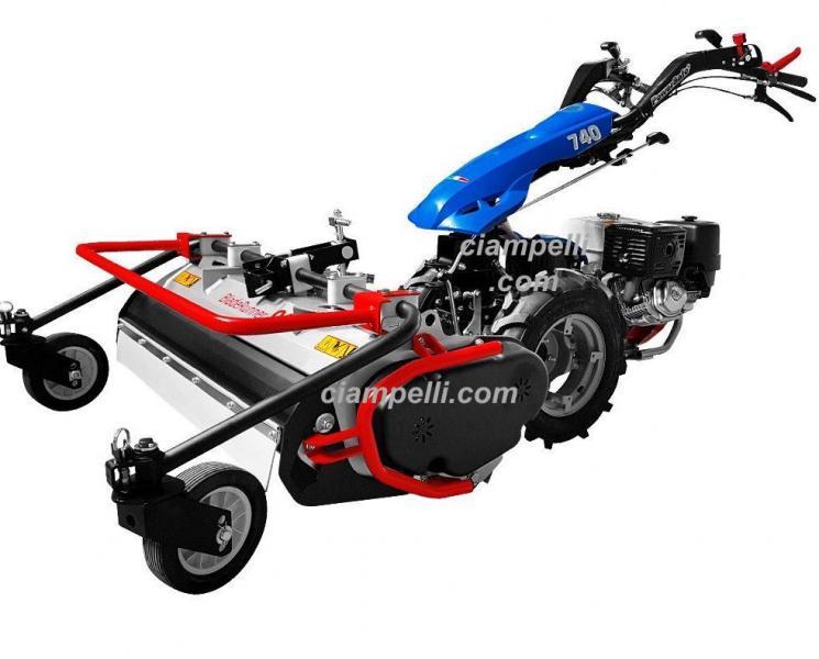Motocoltivatore bcs 740 honda gx 390 fresa 80 cm 12 for Bcs con trincia