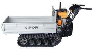 Transporter KIPOR KGFC 350 a cingoli 350 kg