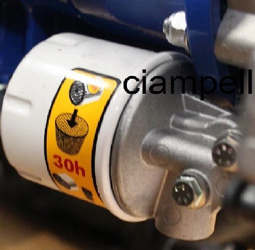 x 3 filtres à huile pour BCS 740 PowerSafe