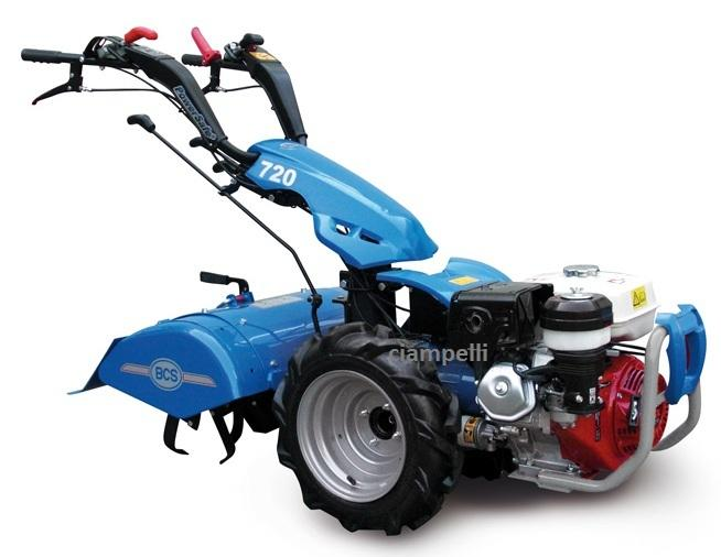 bcs 720 two wheel tractor petrol gx 270, rotary 66 cm, 8, 4