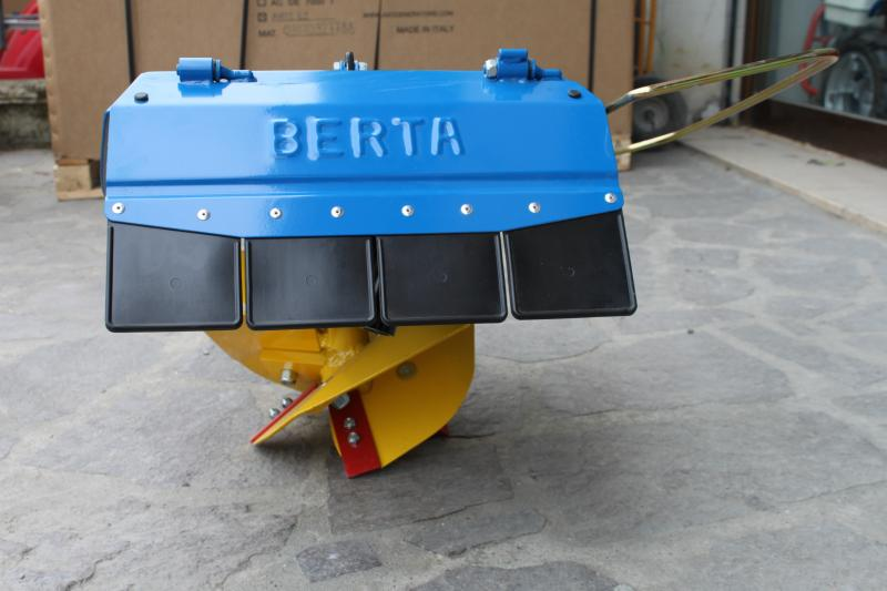 BERTA rotary plough for two wheels tractor, BERTA rotary