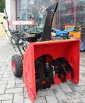 Fraise à neige OPM moteur 6,5 HP traction à roues