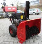 Fraise à neige OPM moteur 13 HP traction à roues deux étages démarrage electrique